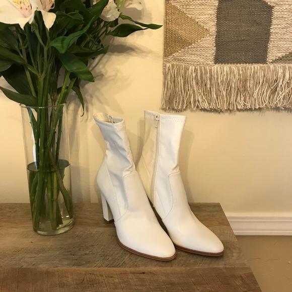 Dolce Vita White Boots   Poshmark